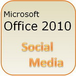 Microsoft Office 2010: Social Media Links