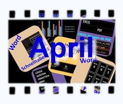 Neues von Word, Excel, PowerPoint und Facebook im April