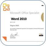 Dieses Fachwissen hat ein Microsoft Office Specialist (MOS)