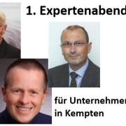 Erster Expertenabend für Unternehmer in Kempten am 23.10.2013