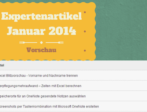 Magnus Bühl Vorschau Expertenartikel Januar 2014