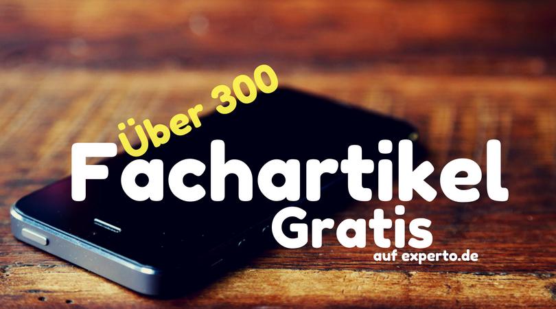 300 Fachartikel von Magnus Bühl